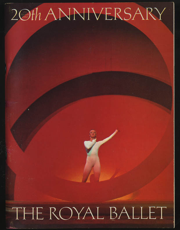 The Royal Ballet American tour program 1969 Nureyev Fonteyn