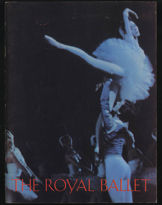 The Royal Ballet American tour program 1965 Nureyev Fonteyn