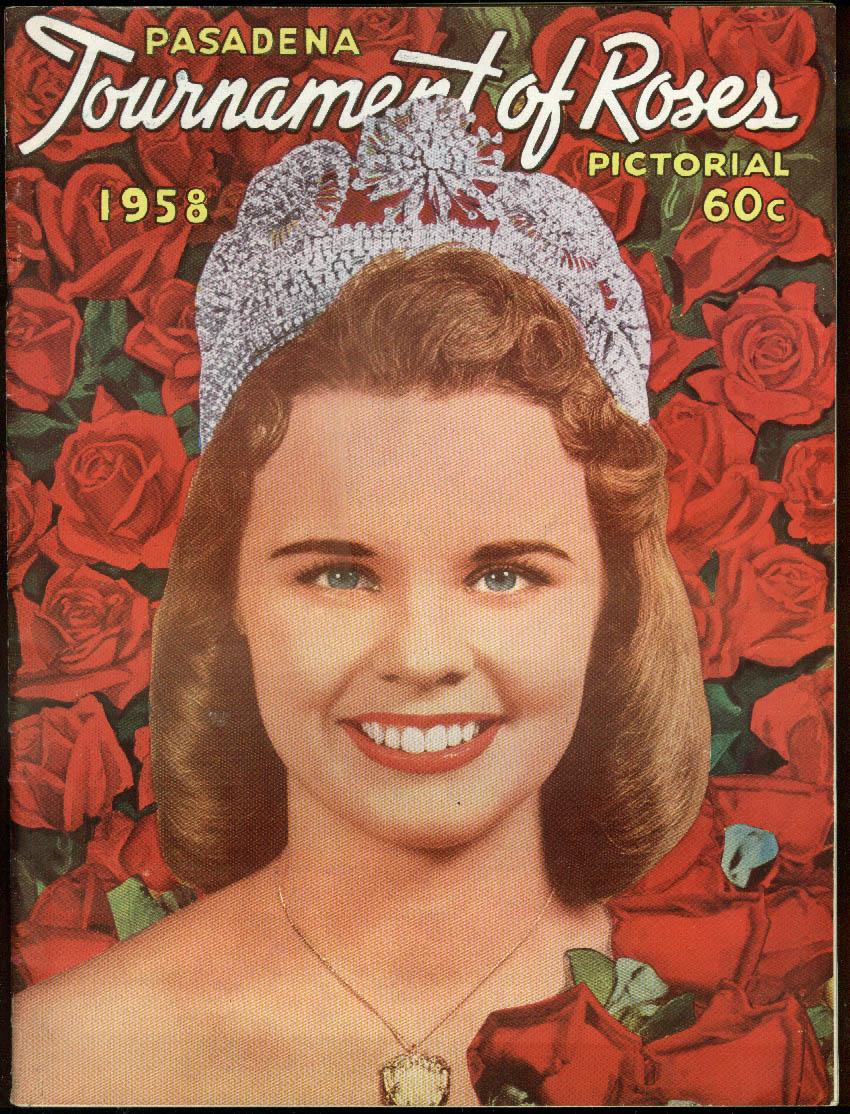 Pasadena Tournament of Roses Pictorial & Rose Bowl Recap 1958