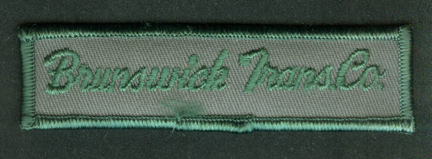 Brunswick Transit Transportation Co unused bus uniform embroidered patch