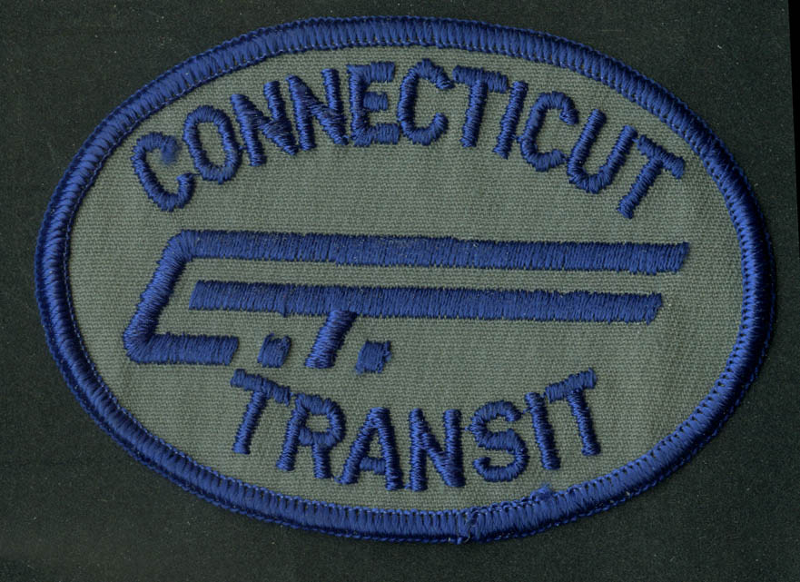 Connecticut Transit unused bus uniform embroidered patch