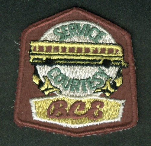 BCE Bus Service Courtesy unused uniform embroidered patch