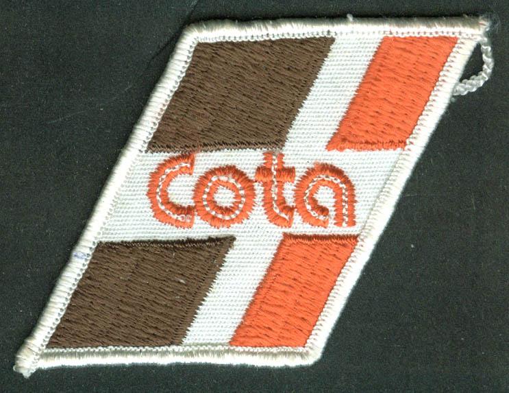 COTA Central Ohio Transit Authority unused bus uniform embroidered patch