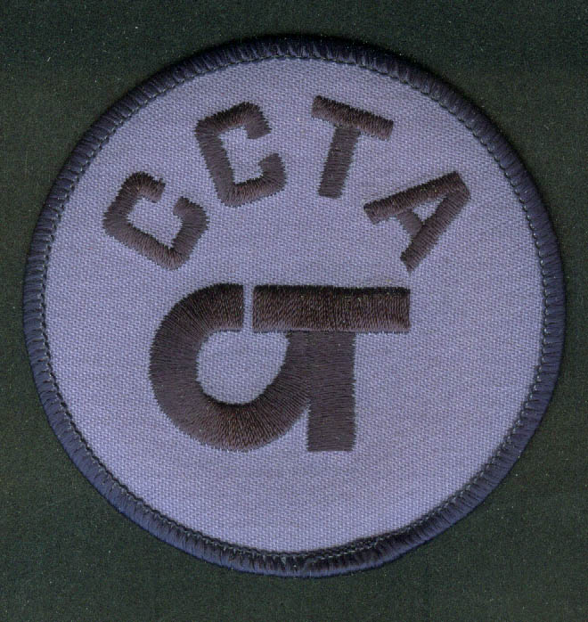 CCTA Chittenden County Transportation Authority unused uniform patch Burlington