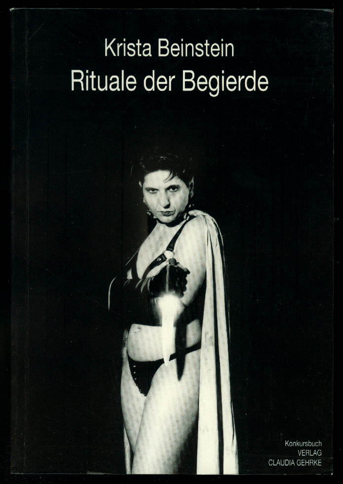 Krista Beinstein: Rituale de Begierde 1st edition 1993 erotic photography