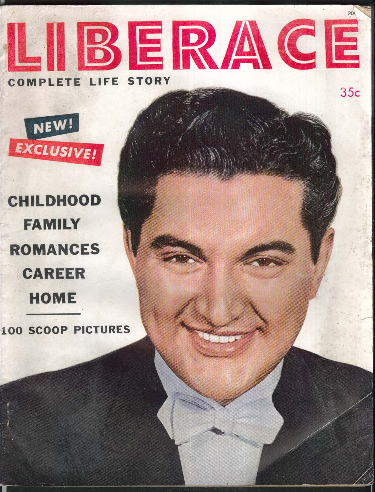 "LIBERACE Complete Life Story: Interview with Frances ""Mom"" TV ++ 1954"