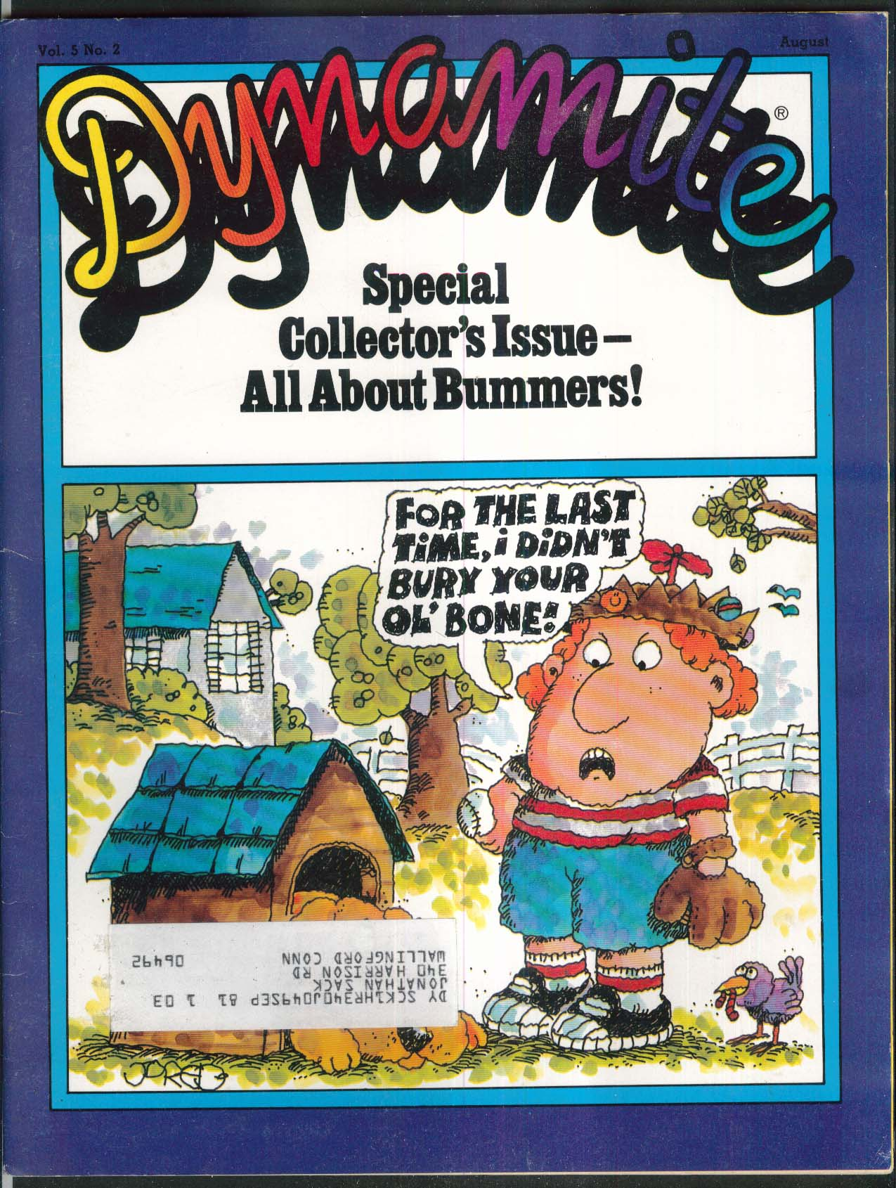 DYNAMTIE #87 Jared Lee P T Barnum & Bailey Circus + 8 1981