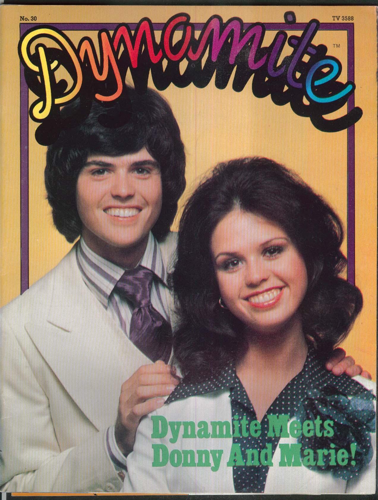 DYNAMITE #30 Donny & Marie Spider-Man Jay J Armes 1976