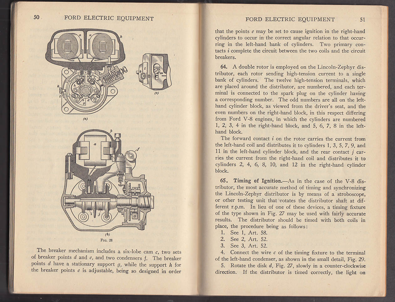 Ford Electric Equipment International Correspondence Schools booklet 1944