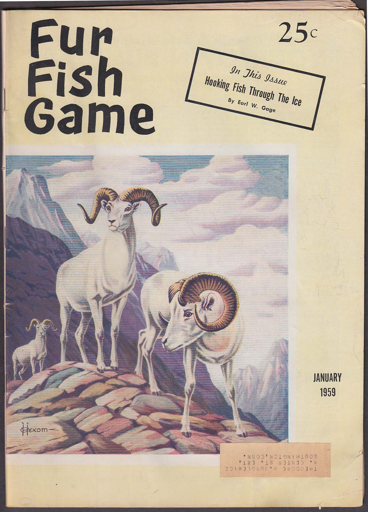 Magazines for Fur fish and game