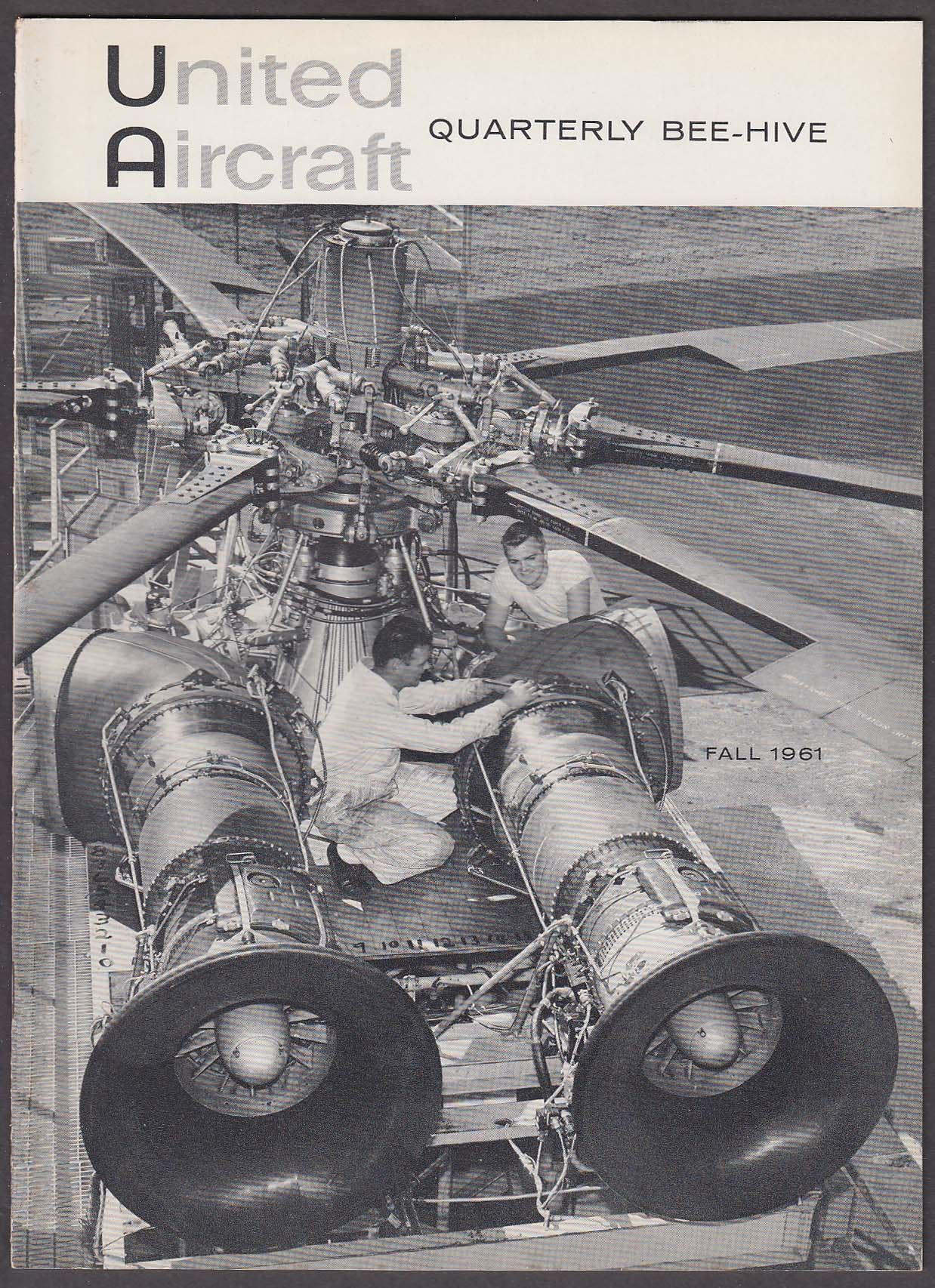 BEE-HIVE United Aircraft Quarterly Dolphin Research + Fall 1961