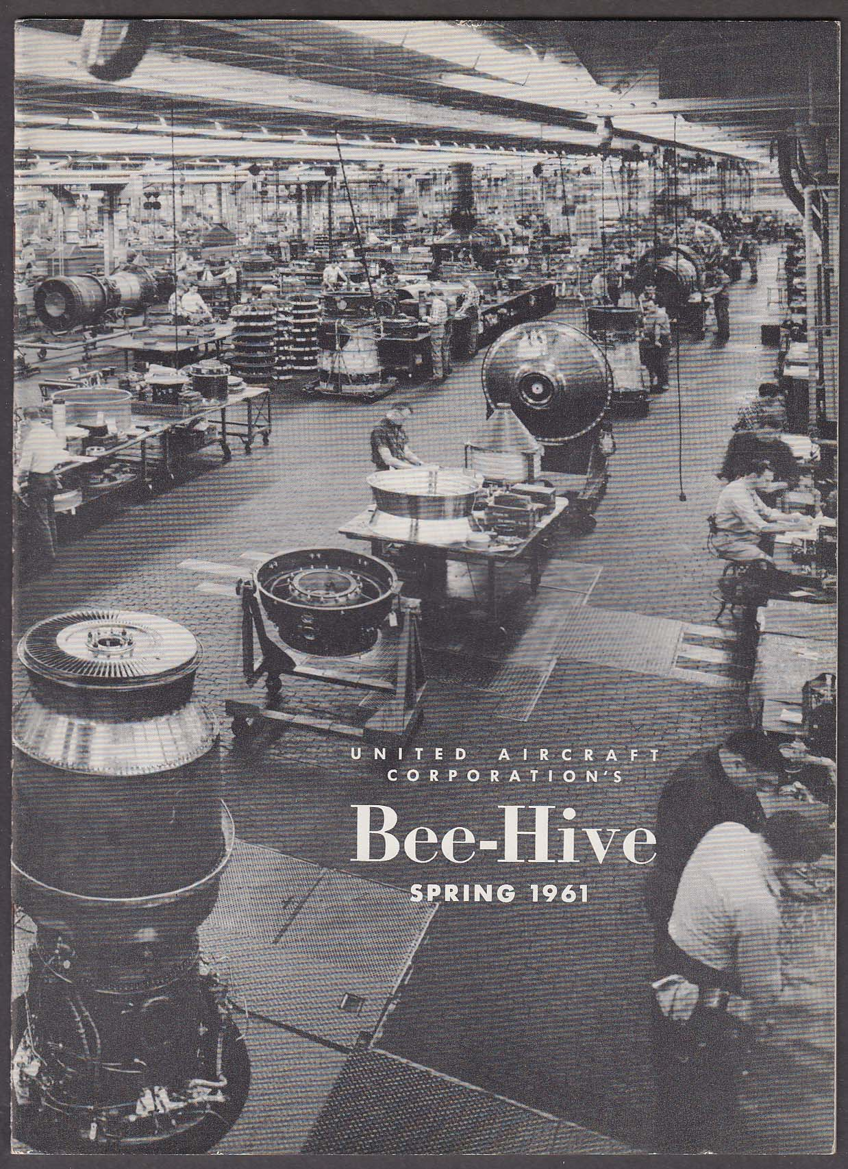 BEE-HIVE United Aircraft Corporation SD-5 Chimps in Space + Spring 1961