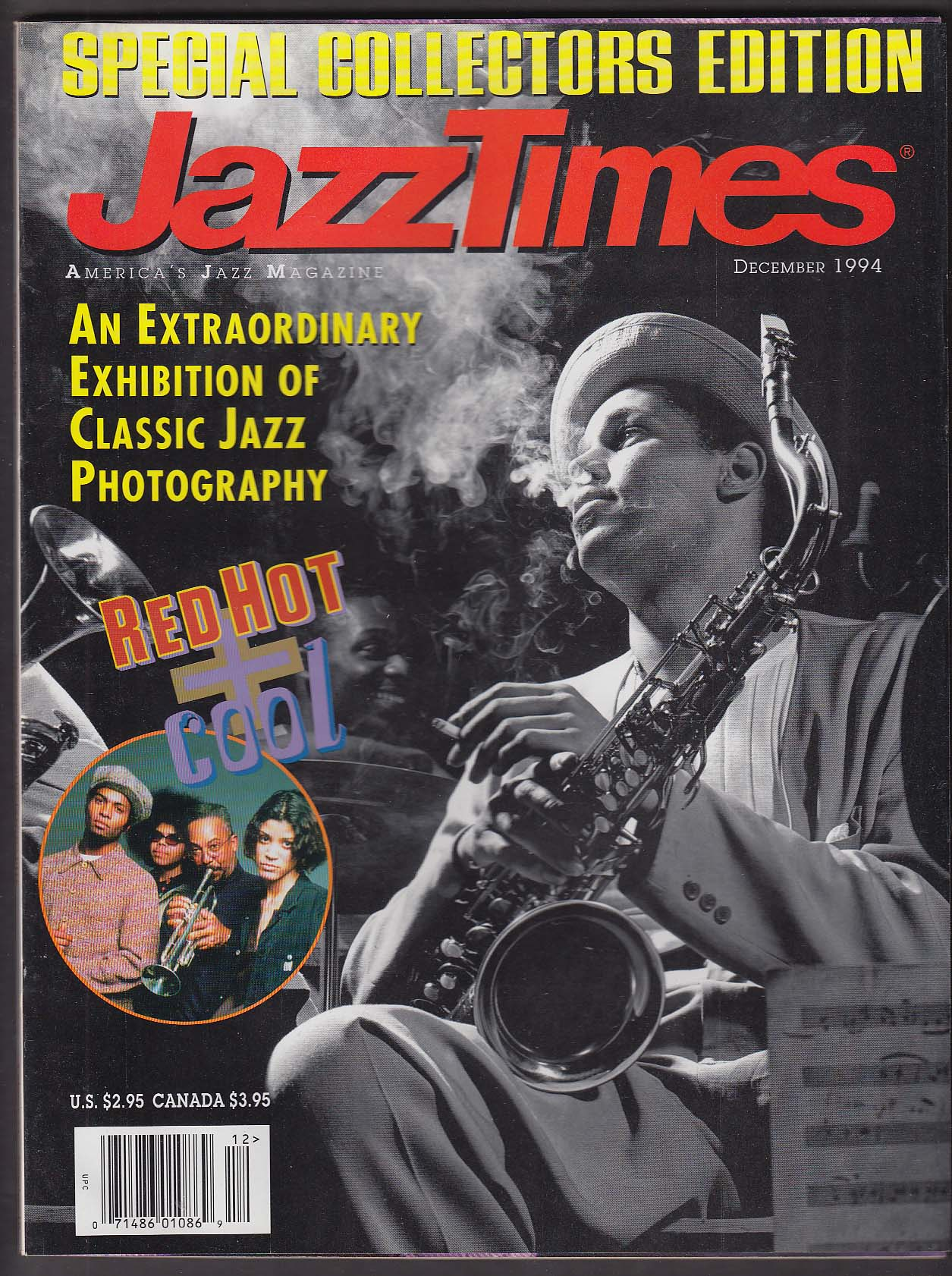 JAZZ TIMES Red Hot + Cool Sonny Fortune Eddie Daniels Leonard Feather 12 1994