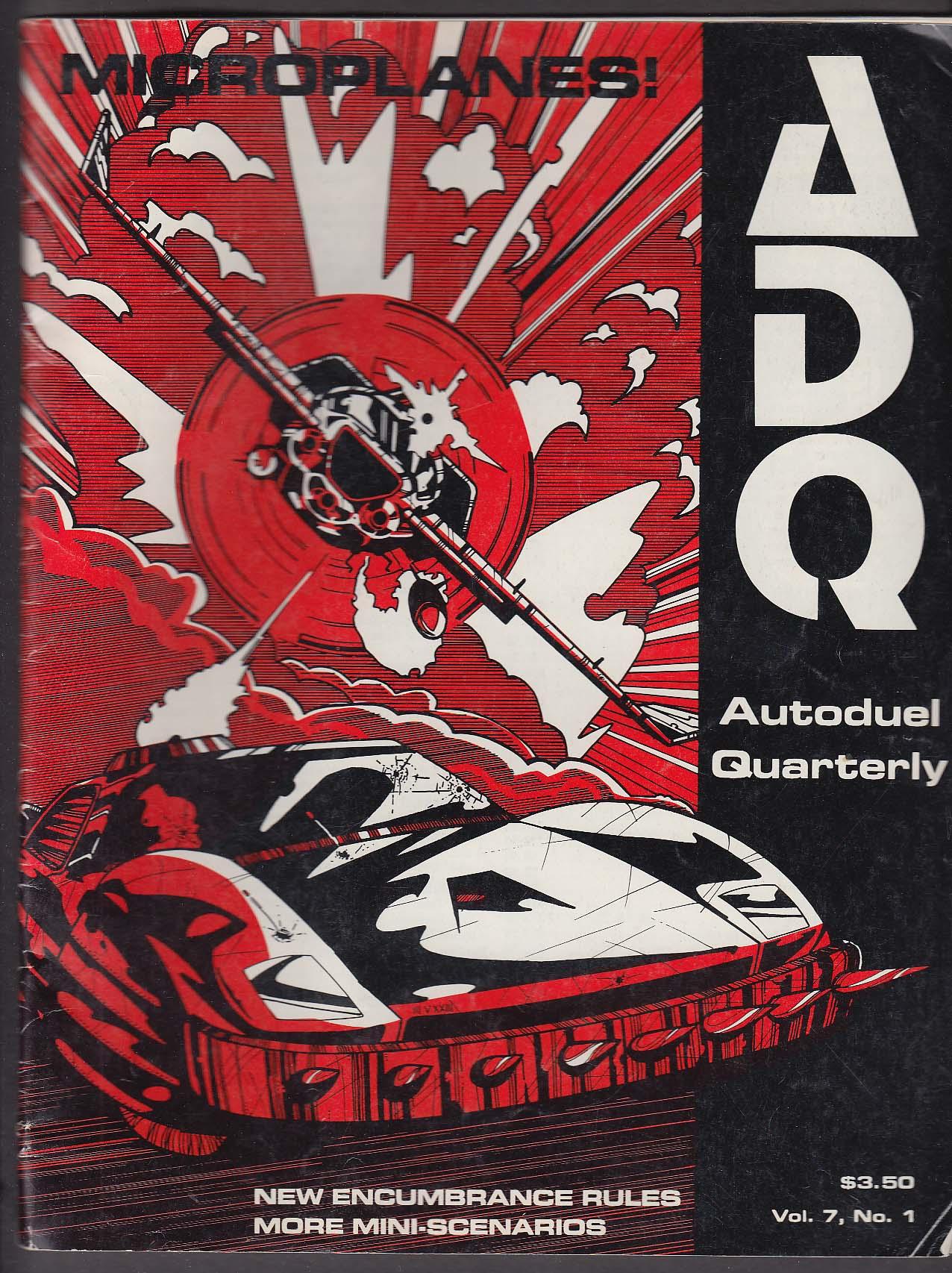 ADQ Autoduel Quarterly Vol 7 #1 Car Wars Steve Jackson Games 1989 RPG