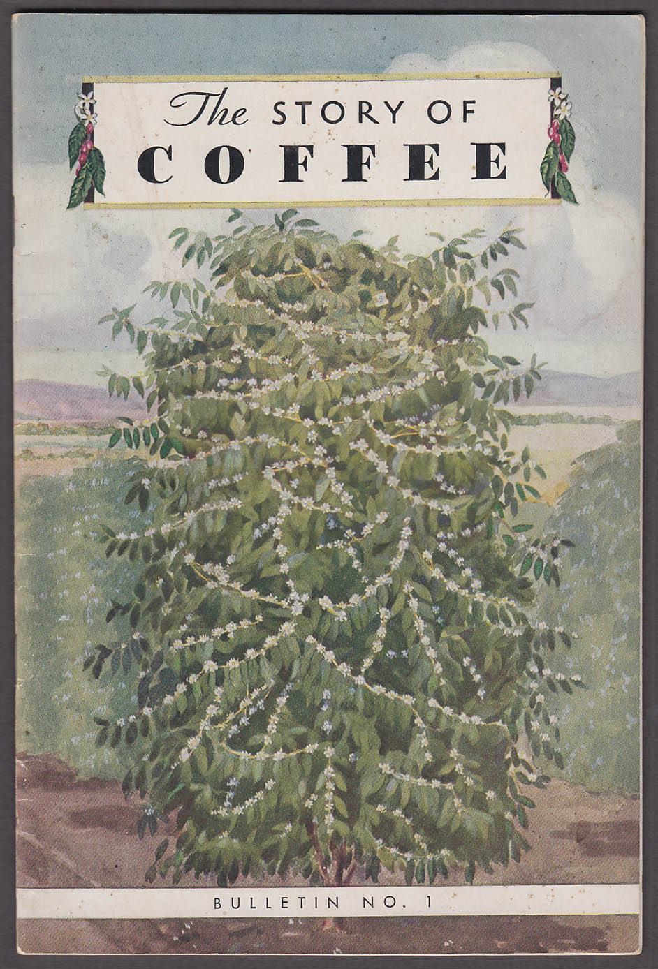 American Can Bureau of Coffee Information Story of Coffee booklet 1934