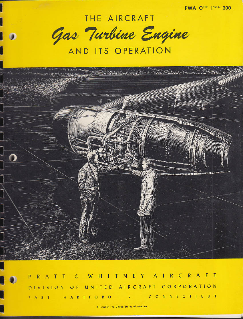 Image for Pratt & Whitney Aircraft Gas Turbine Engine & Ops Installation Engineering 1958