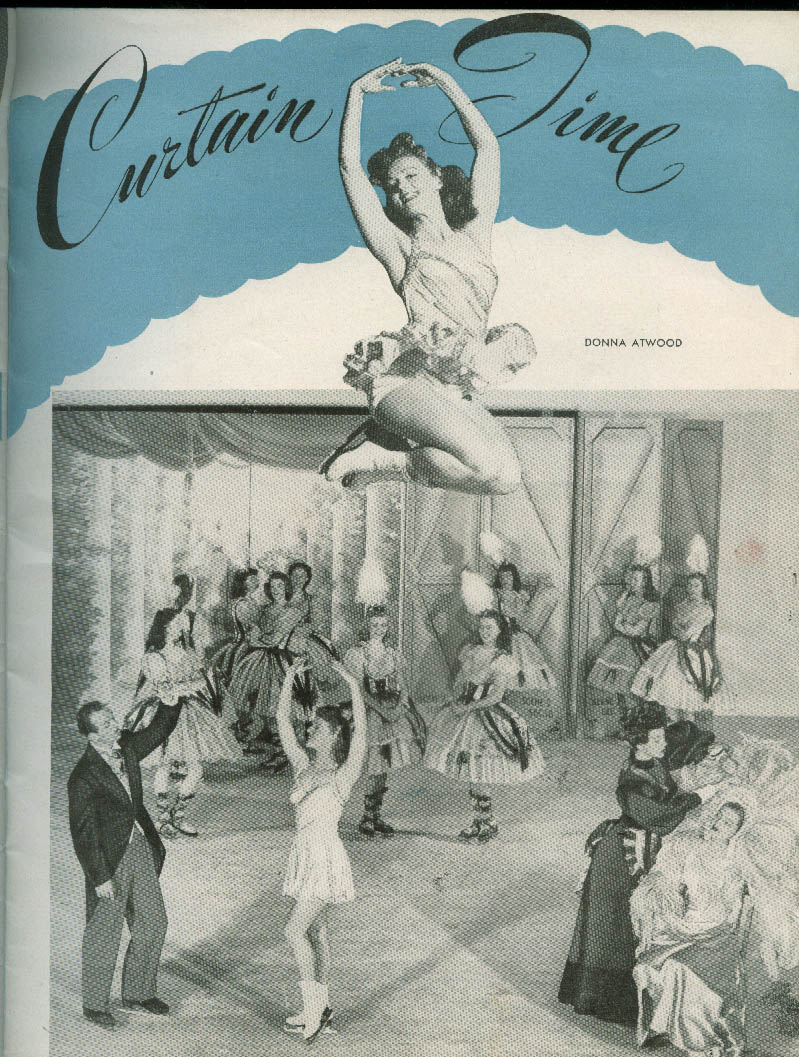 Ice Capades of 1948 souvenir program George Petty girl pin-up cover
