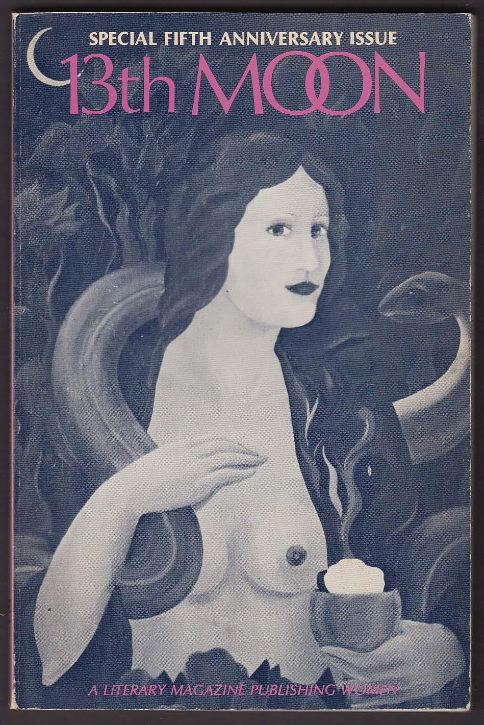 13th MOON 5th Anniversary Mirella Bentivoglio Audre Lorde Rochelle Owens + 1978