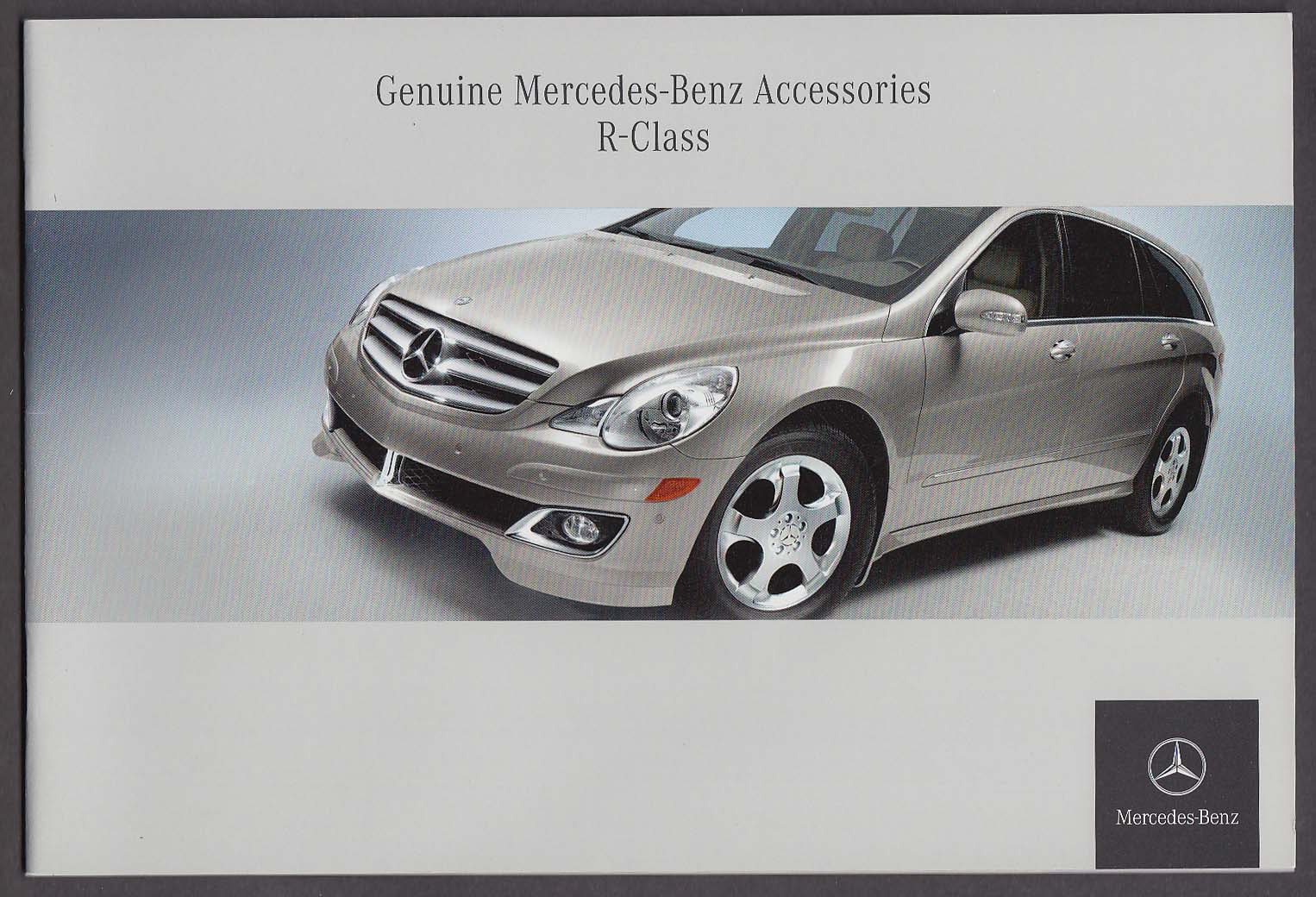 2006 Mercedes-Benz R-Class Genuine Accessories catalog