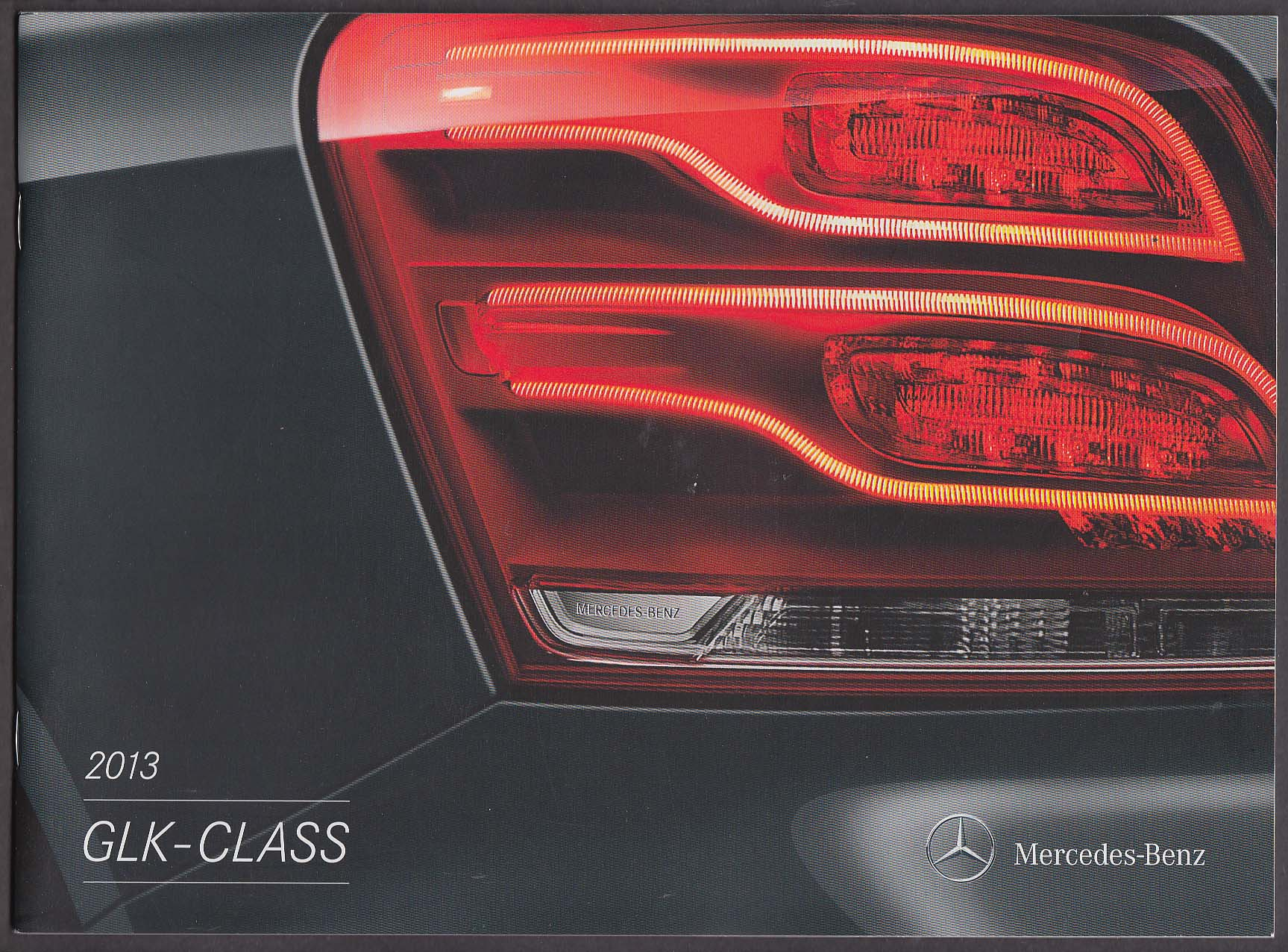 2013 Mercedes-Benz GLK-Class sales catalog