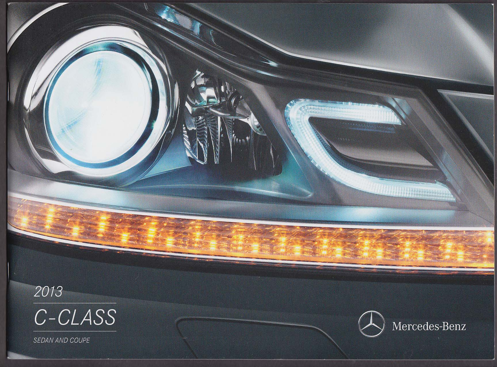 2013 Mercedes-Benz C-Class Sedan & Coupe sales catalog