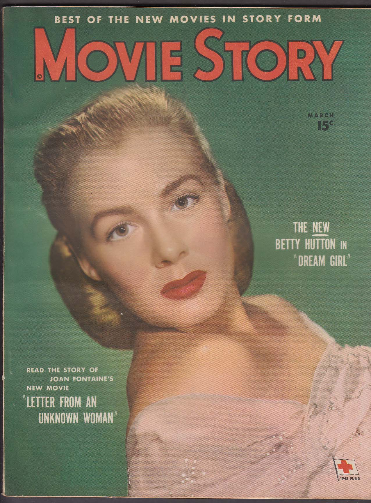 MOVIE STORY Betty Hutton Joan Fontaine 3 1948