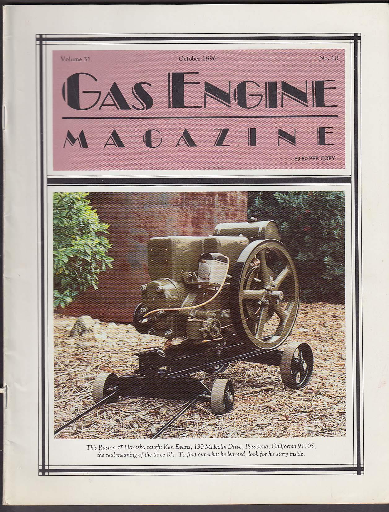 GAS ENGINE Massey-Harris-Ferguson Bessemer Sparta Economy Phoenix + 10 1996