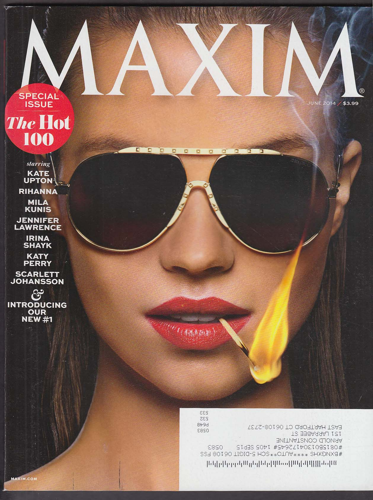 MAXIM Hot 100 Special Issue: Kate Upton Rihanna Mila Kunis, et al. 6 2014