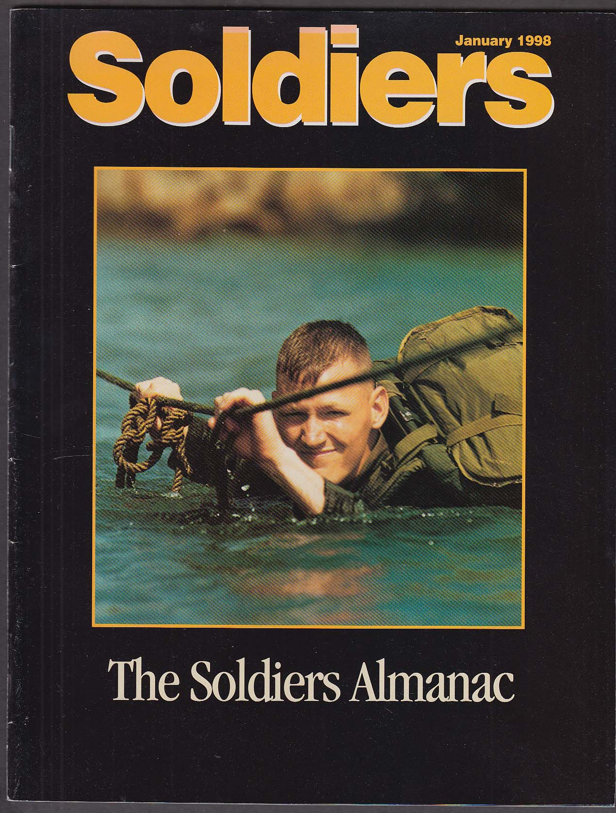 SOLDIERS Almanac Bosnia Disaster Relief Jungle Operations Training Center 1 1998