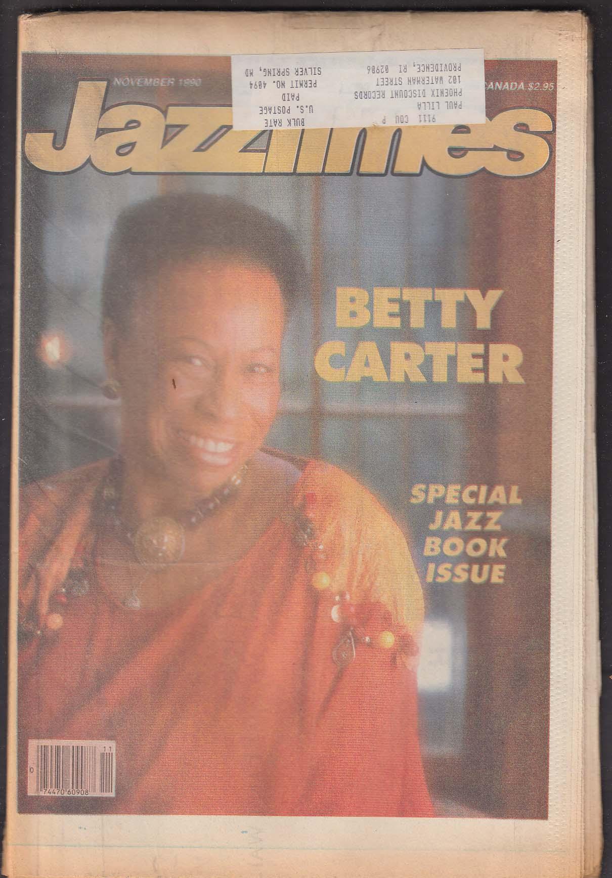 JAZZTIMES Betty Carter Ernestine Anderson Chick Corea ++ 11 1990