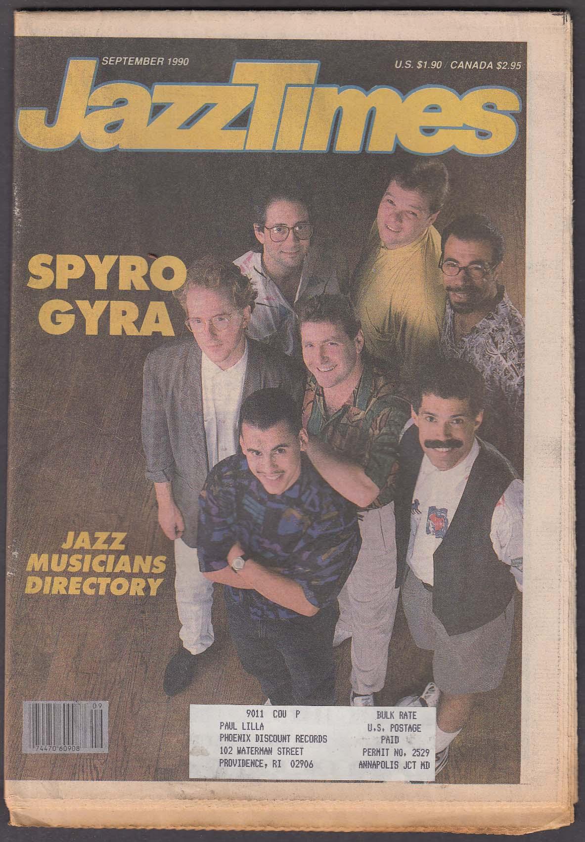 JAZZTIMES Spyro Gyra Michele Rosewoman June Christy ++ 9 1990
