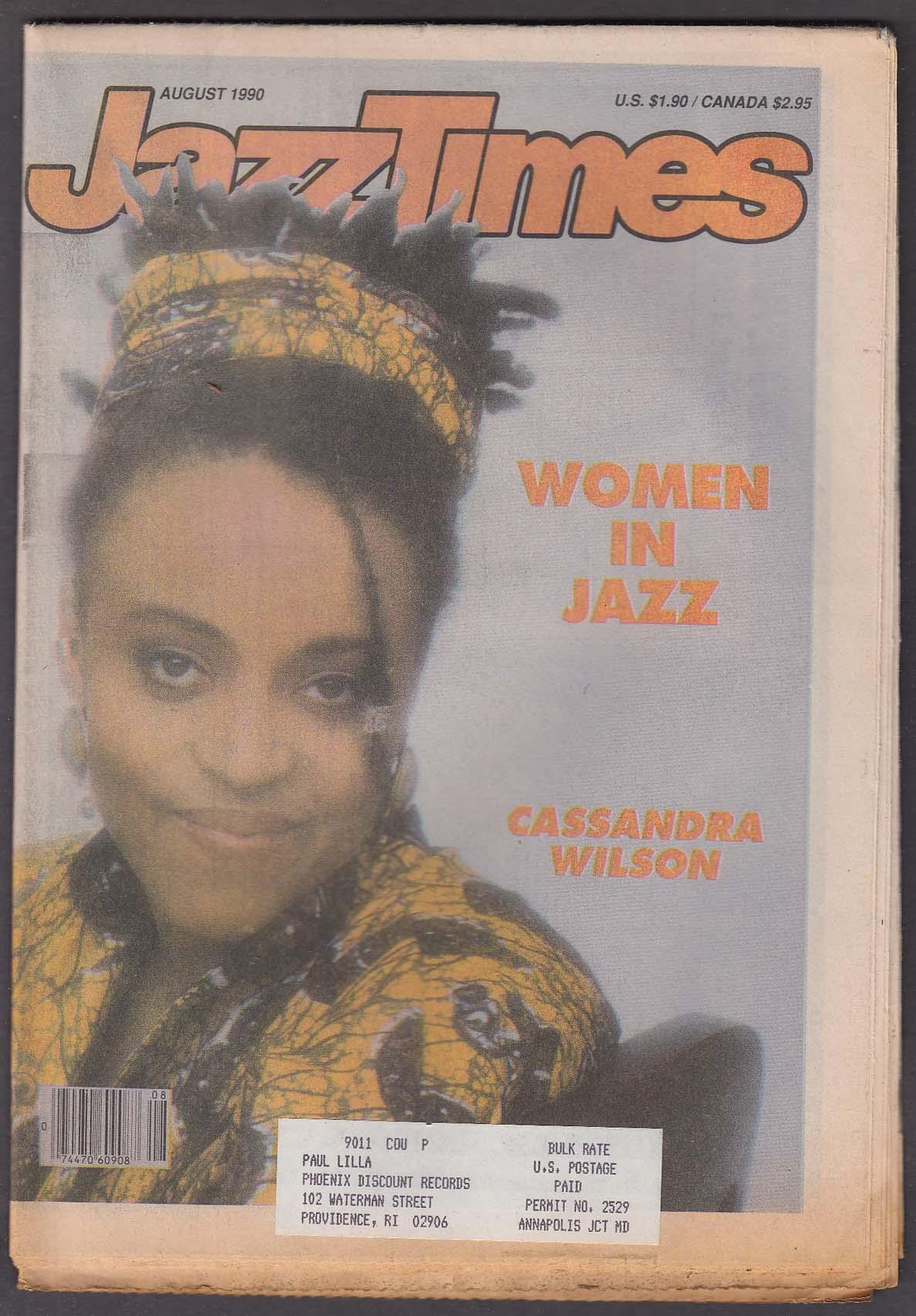 JAZZTIMES Cassandra Wilson Sumi Tonooka Holly Hoffman Clora Bryant ++ 8 1990