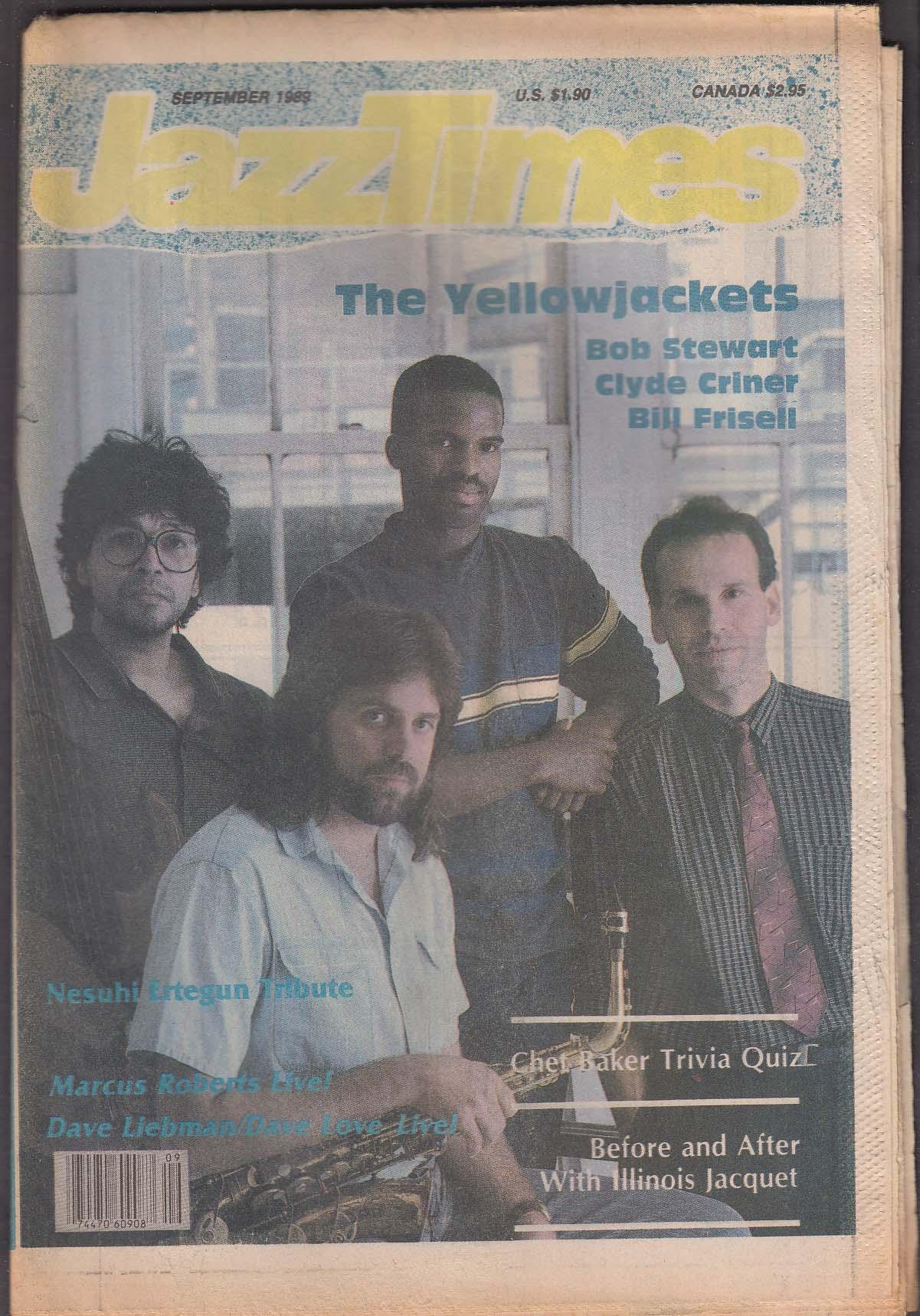 JAZZTIMES Yellowjackets Bob Stewart Clyde Criner Bill Brisell ++ 9 1989