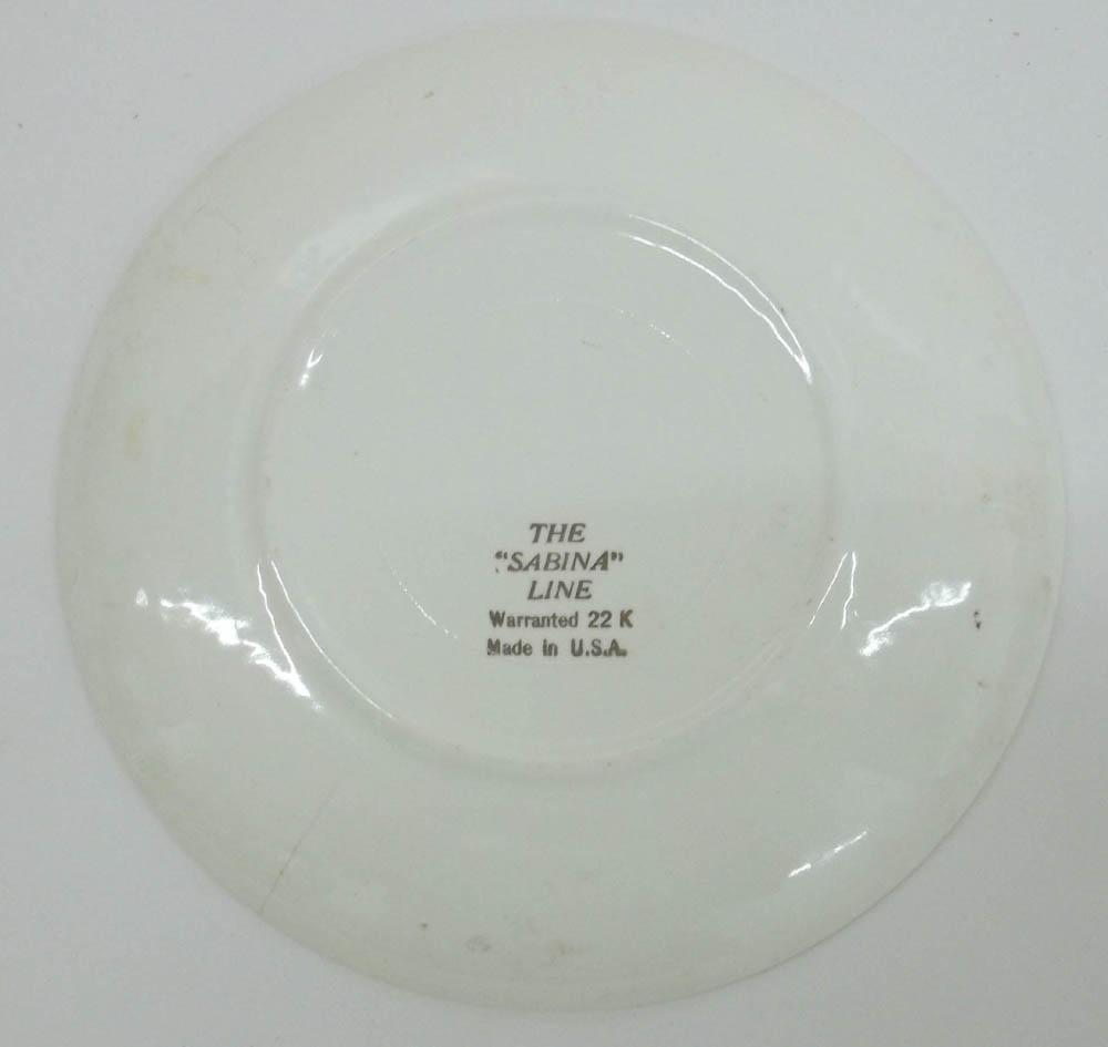 """Compliments of Uncle Louie's Bar 1968 6"""" diameter calendar plate 1968"""