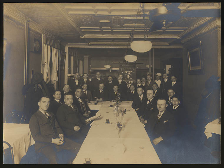 Image for International Woodmen of the World Meeting photograph New Haven CT ca 1920