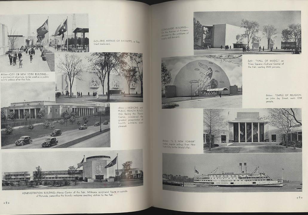 New York World's Fair Views view book 1939
