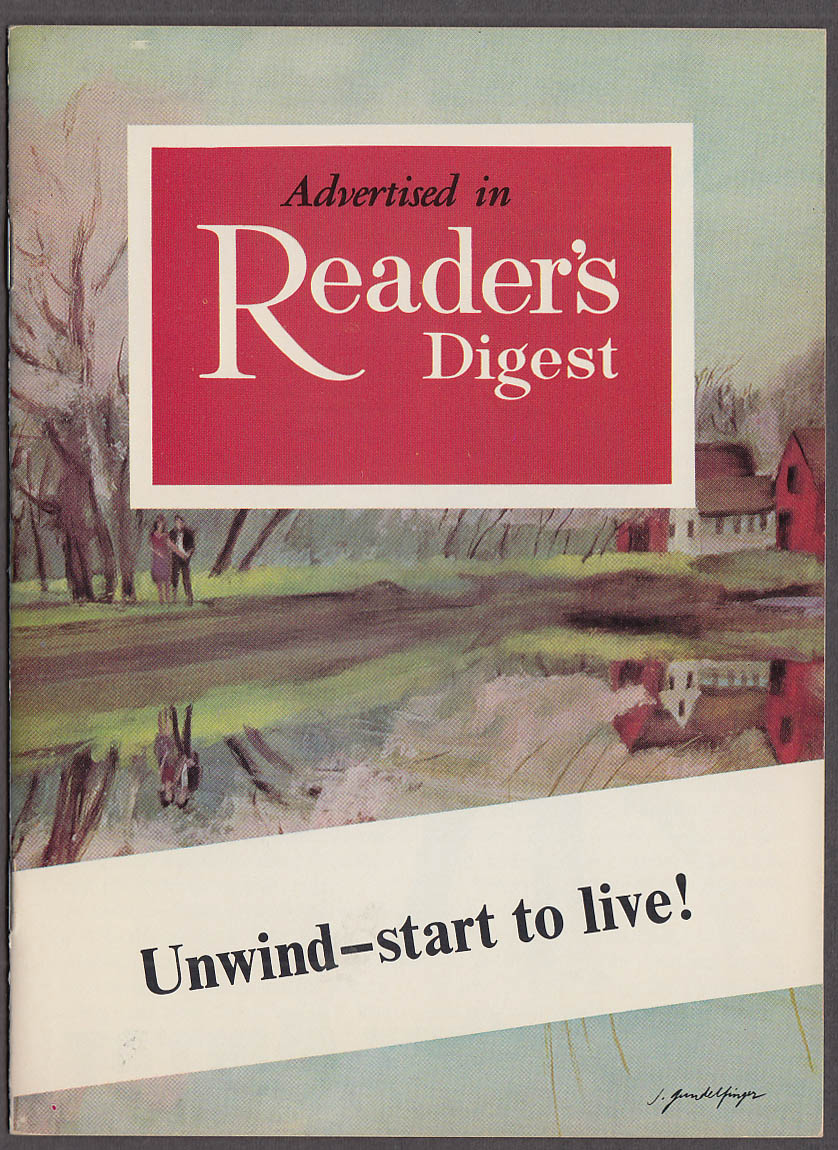Arthur Murray Dance Studios Unwind - Start to Live! Booklet 1960s