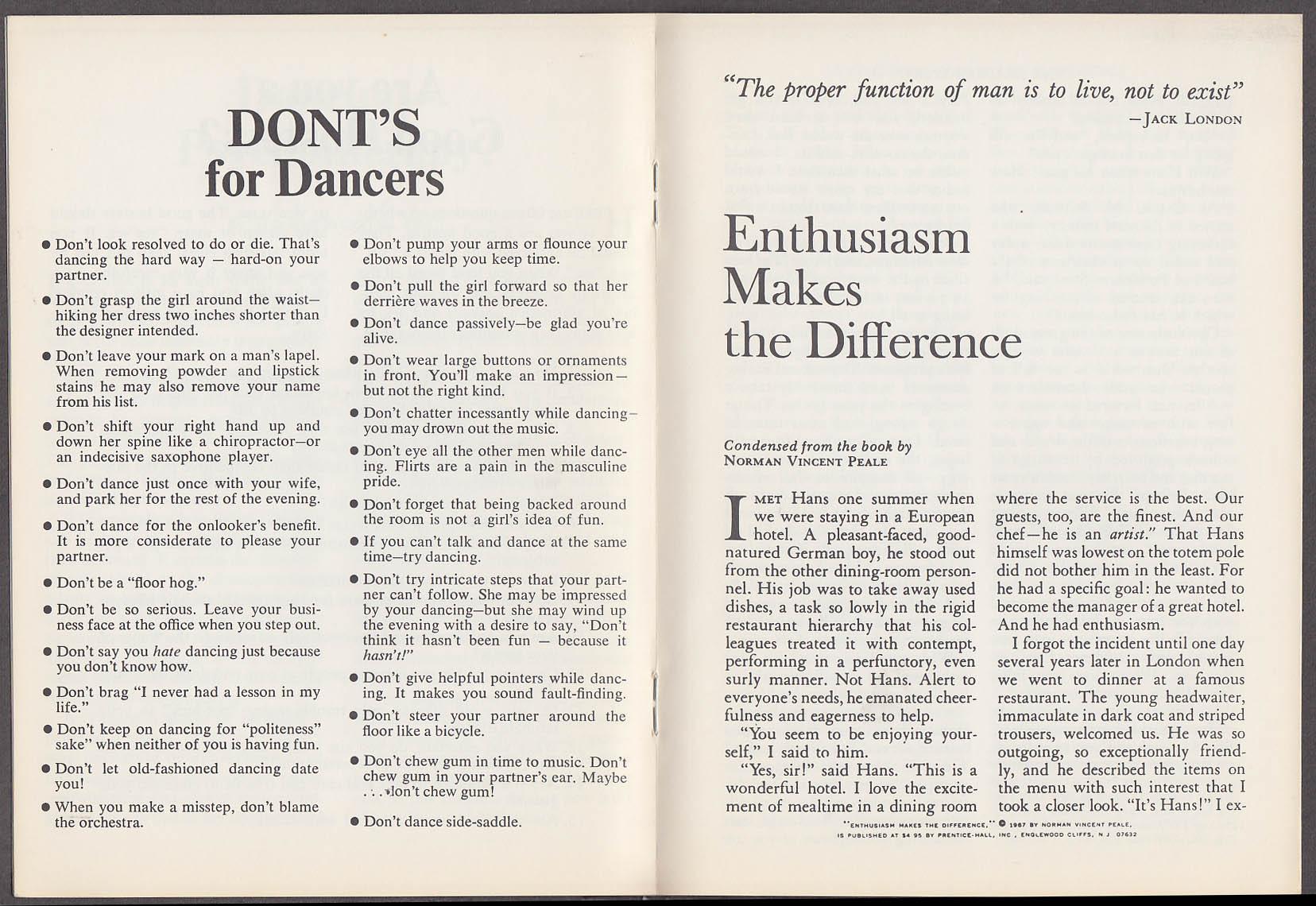 Arthur Murray Dance Studios Unwind - Start to Live! Booklet 1960s
