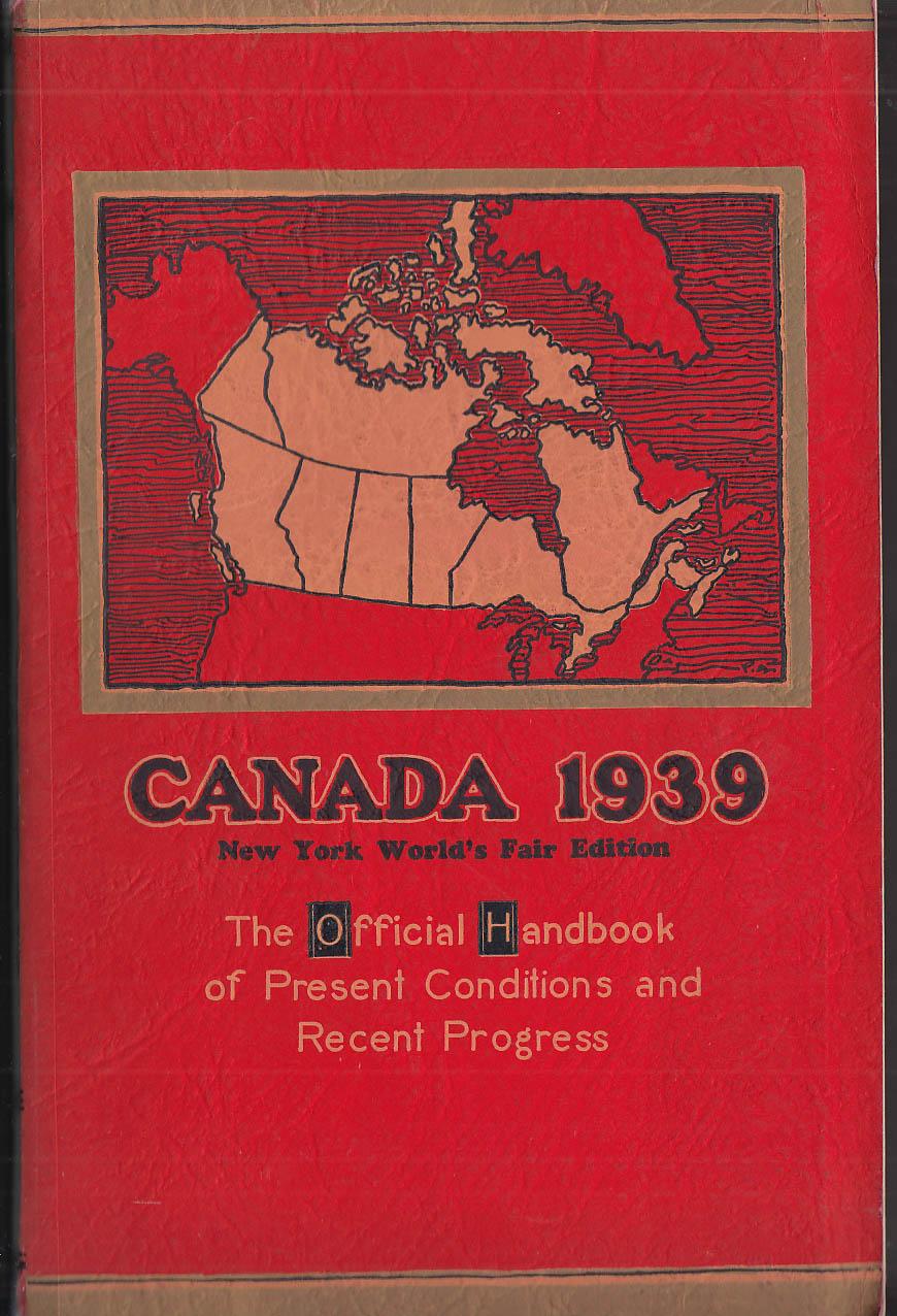 Canada 1939 New York World's Fair Edition Official Handbook