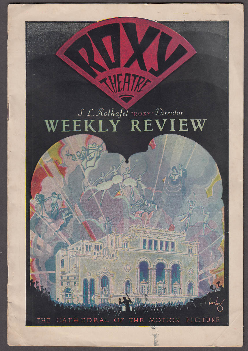 Roxy Theatre Weekly Review 2/4 1928 Irving Berlin's Sunshine; Love Me & World is