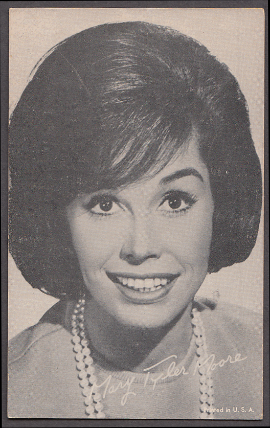 Image for Actress Mary Tyler Moore arcade card 1960s