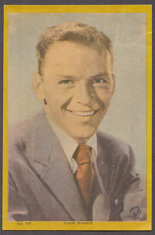 "Singer & actor Frank Sinatra 3x5"" picture Argentina 1959"