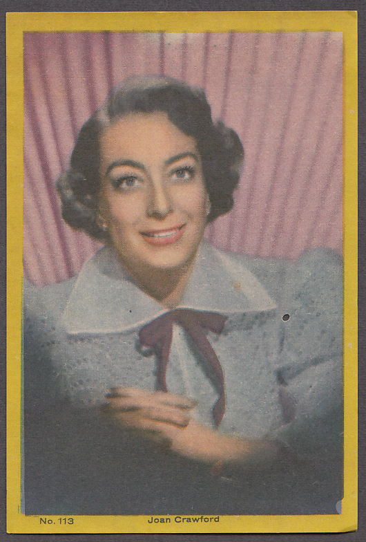 """Image for Actres Joan Crawford 3x5"""" picture Argentina 1959"""