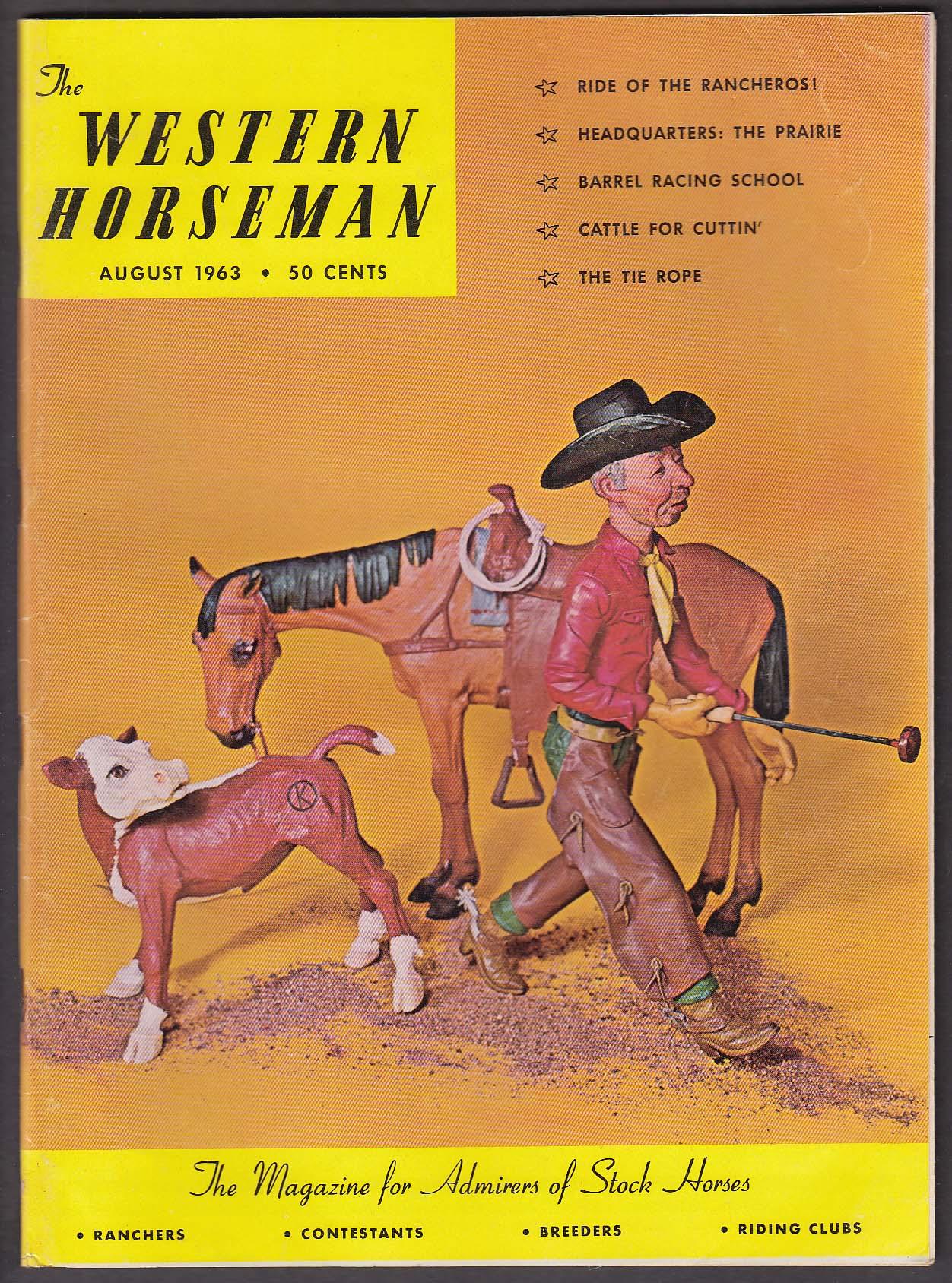 Image for WESTERN HORSEMAN Escuela Ecuestre Colitis X Ario Bari Arabian + 8 1963