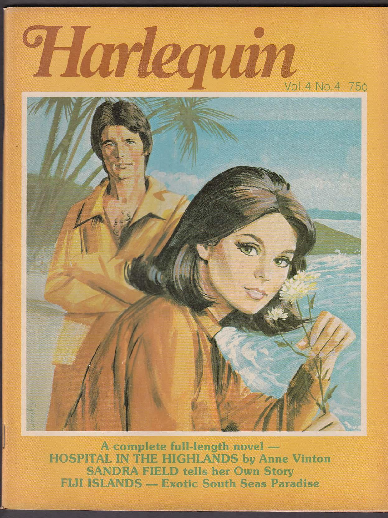 Image for HARLEQUIN V4 #4 Anne Vinton Sandra Field Fiji Islands + 1976