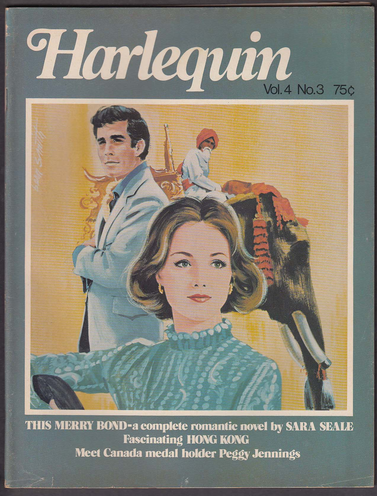Image for HARLEQUIN V4 #3 Sara Seale Peggy Jennings Mary Lou Healy + 1976