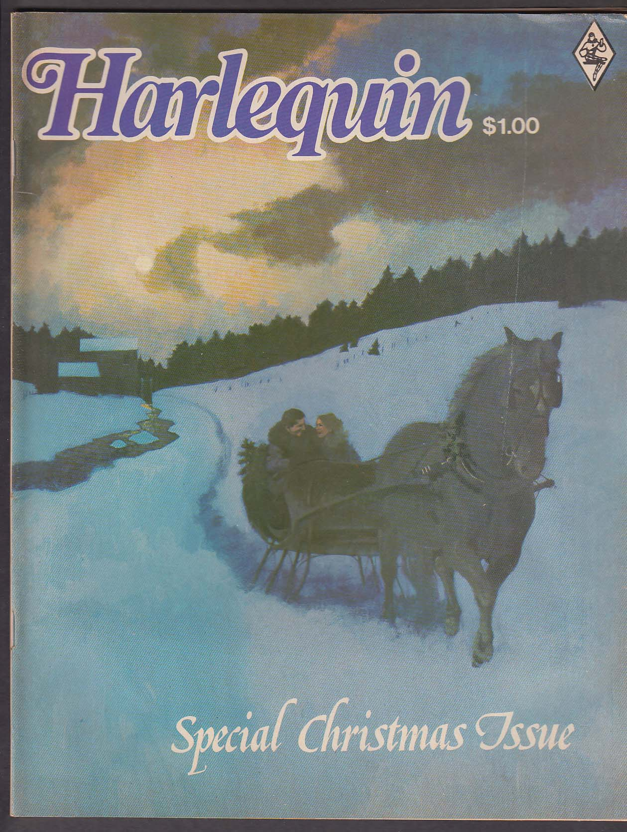HARLEQUIN Special Christmas Issue Marjorie Moore Egypt + 1975
