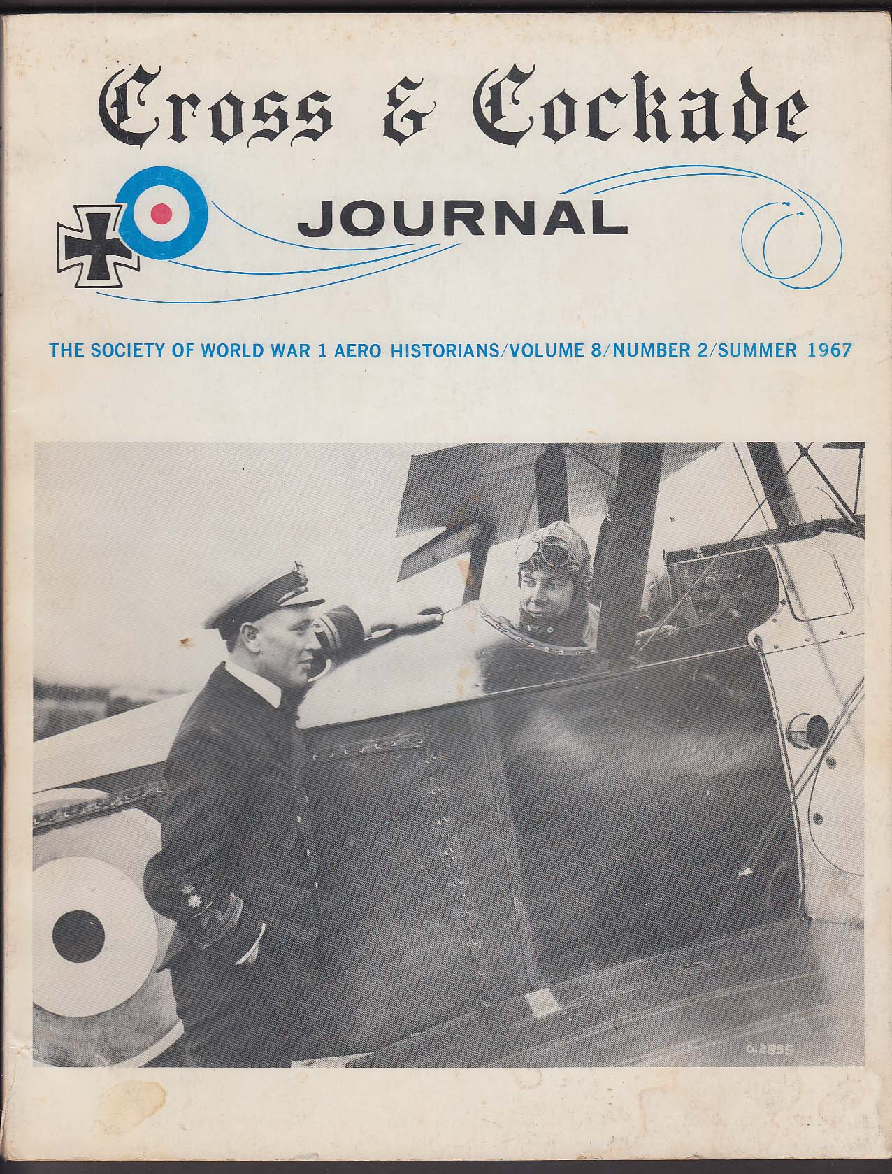 Image for CROSS & COCKADE JOURNAL Taylor 25 Squadron Serbian Air Force Sopwith Summer 1967