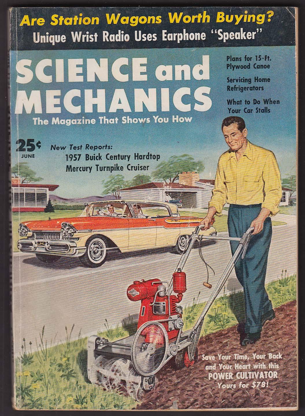 Image for SCIENCE & MECHANICS Buick Century Mercury Turnpike Cruiser road tests ++ 6 1957