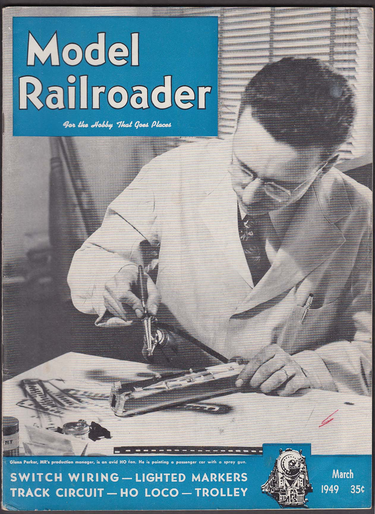 The Jumping Frog Rare Used And Out Of Print Books Magazines Ho Track Wiring Model Railroader Switch Lighted Markers Circuit Loco 3 1949